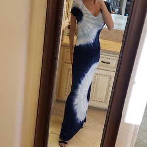 Young Fabulous & Broke tye-dye maxi dress, XS